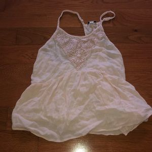 Light pink tank top American eagle. M